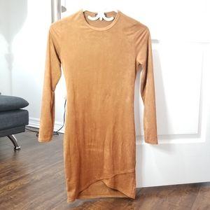 FASHION NOVA bodycon chenille dress. Size S